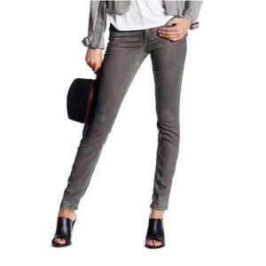 "Level 99 ""Liza"" Skinny Gray Jeans"